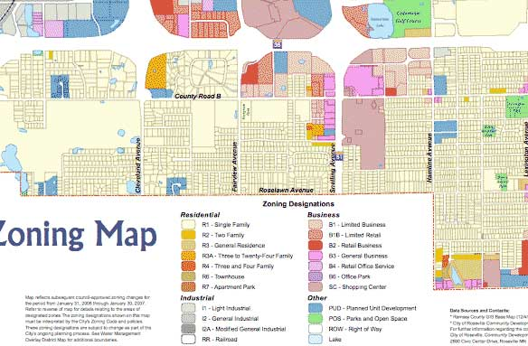 Recivilization The Origins Of Zoning - Los angeles zoning map