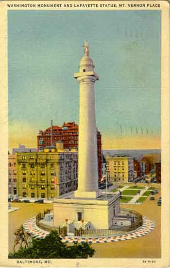 baltimore: washington monument